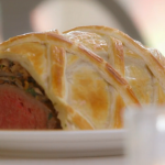 Mary Berry beef Wellington with tarragon sauce recipe on Mary Berry's Foolproof Cooking
