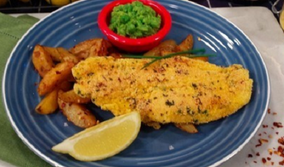 James Tanner Fish With Potato Wedges And Mushy Peas Recipe