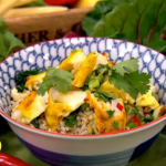 Ching's steamed haddock with Chinese Salsa Verde recipe on Lorraine