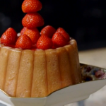 Ivan Day strawberry Charlotte recipe on James Martin: Home Comforts