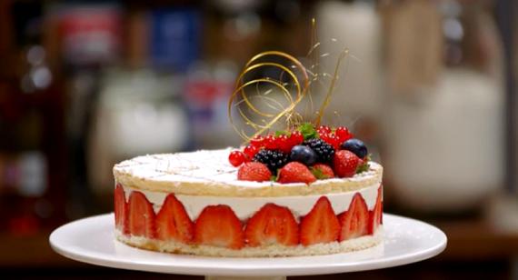 James Martin Large Sponge Cake Recipe