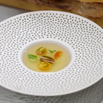 James Martin tomato consommé recipe on James Martin: Home Comforts