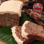 James Tanner sugar-free banana loaf with maple frosting recipe on Lorraine