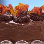 Phil's mouthwatering chocolate orange cake recipe on This Morning