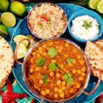 John Whaite meat free lentil and chickpea curry recipe on Lorraine