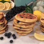 Dean Edwards gluten free pancake recipe on Lorraine