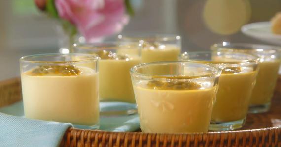 mary berry passion fruit pots with sweet lemon crisps On mary berry lemon cream pots