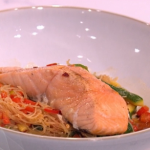 Phil Vickery Salmon with vermicelli recipe for Valentine's Feast on This Morning