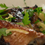 Nigel Slater Sticky Chicken with Lemon and Honey recipe on The Best Ever Dishes