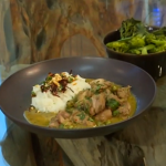 James Martin Thai green curry with sticky rice recipe on Saturday Kitchen