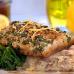 Phil's fish Friday herb crusted haddock recipe on This Morning