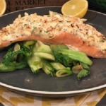 Dean Edwards Sweet chilli baked salmon recipe on Lorraine