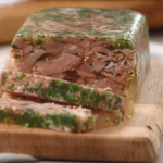 Mary Berry ham hock terrine recipe on Mary Berry's Foolproof Cooking