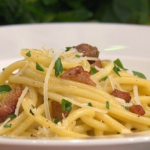 Gino's classic Italian carbonara recipe on This Morning
