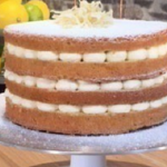 John Whaite lemon drizzle cake recipe on Lorraine