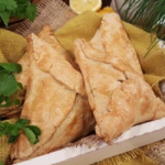 John Whaite's spiced vegetarian pasties recipe on Lorraine