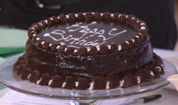 Phil Vickery Queens Official Birthday Chocolate Cake recipe on This ...