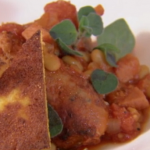 Rosemary Shrager Italian Tuscan sausage casserole recipe on Chopping Block