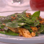 Phil's Chinese stir fried tofu with mangetout and chilli recipe on This morning