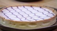 John Whaite served up a delicious lemon and blackcurrant bakewell tart on today's episode of Chopping Block. The ingredients are: 300g sweet shortcrust pastry, 60g butter, 60g sugar, 1tbsp plain...