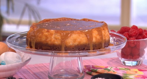 Junior Bake Off Salted Caramel Cake Recipe