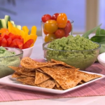 The Body coach avocado dip and banana ice cream  guilt-free snacks recipe on This Morning