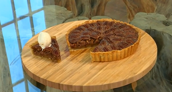 Cyrus Todiwala spiced pecan pie recipe on Saturday Kitchen | TV Foods