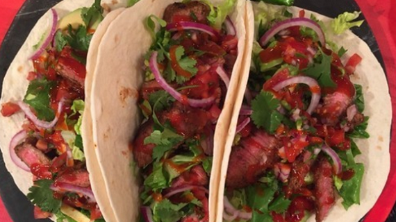 Dean's Smoky Beef Tacos recipe on Lorraine | TV Foods