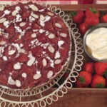 John Whaite Strawberry upside down cake recipe on Lorraine