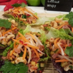 Ching's smoky Vietnamese lettuce wraps recipe on Lorraine