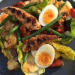 Dean Edwards Honey glazed barbecue chicken salad recipe on Lorraine