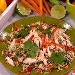 James Tanner's Vietnamese chicken salad recipe on Lorraine