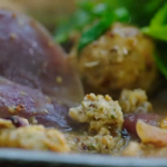 Jamie Oliver pork meatballs with sweet onion and apple gravy recipe on Jamie's Super Food