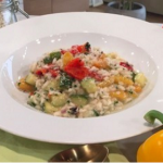 Gino's super simple risotto on This Morning