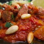 Nadia's lamb and apricot tagine recipe on Lorraine