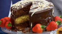 Candice served up a delicious looking chocolate and orange cake on The Great British Bake Off 2016 Final. The ingredients are: 275g plain flour, 3 tbsp cocoa powder, 1½ tsp...