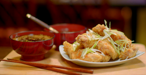 The Hairy Bikers Korean Fried Chicken With Dipping Sauces