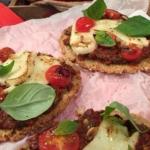 Jason Vale's no dough halloumi pizza recipe on Lorraine