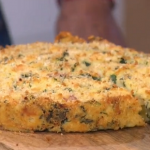 Antonio Carluccio's potato with ham and vegetable cake recipe on This Morning