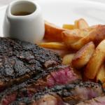 Simon Rimmer Dry Rub Rib-Eye Steak with Beer Sauce Recipe on Sunday Brunch
