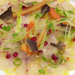 Monica Galetti sea bass ceviche with crispy skin recipe on MasterChef: The Professionals