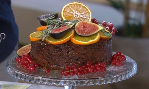 Selasi S Boozy Christmas Cake Recipe On This Morning The
