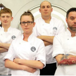 Dale, Kirsty, Claudio, Dick, Dylan and Matt cooked for survival on MasterChef: The Professionals 2016 UK
