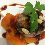 Nigel Barden Italian Pheasant Meatballs with Butternut Squash recipe on Radio 2 Drivetime