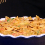 Gino's posh pasta bake with smoked salmon and bechamel sauce recipe on This Morning