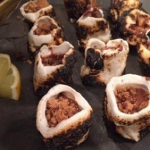 John Whaite smores cups canapes recipe on Lorraine