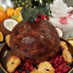 Levi Roots Caribbean Christmas pudding recipe on Lorraine