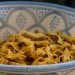 Anna's ragu alla bolognese recipe on The Cook Who Changed Our Lives with Nigella Lawson