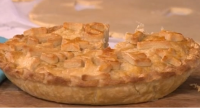 Phil Vickery served up a tasty cheese and onion pie with lard on This Morning. The ingredients for the pastry are: 450g plain flour, 130g stork margarine or butter, 130g...