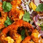 Alesha Dixon spicy prawns recipe on Jamie and Jimmy's Friday Night Feast